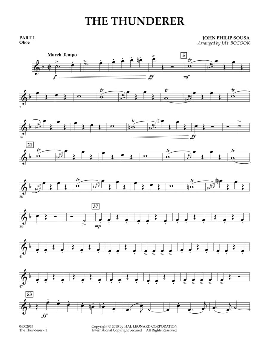 The Thunderer - Pt.1 - Oboe