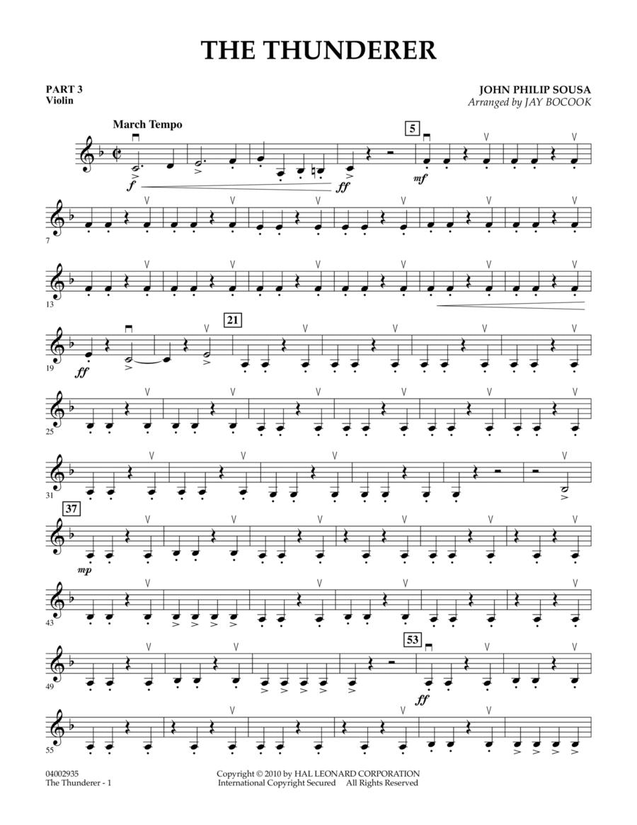 The Thunderer - Pt.3 - Violin