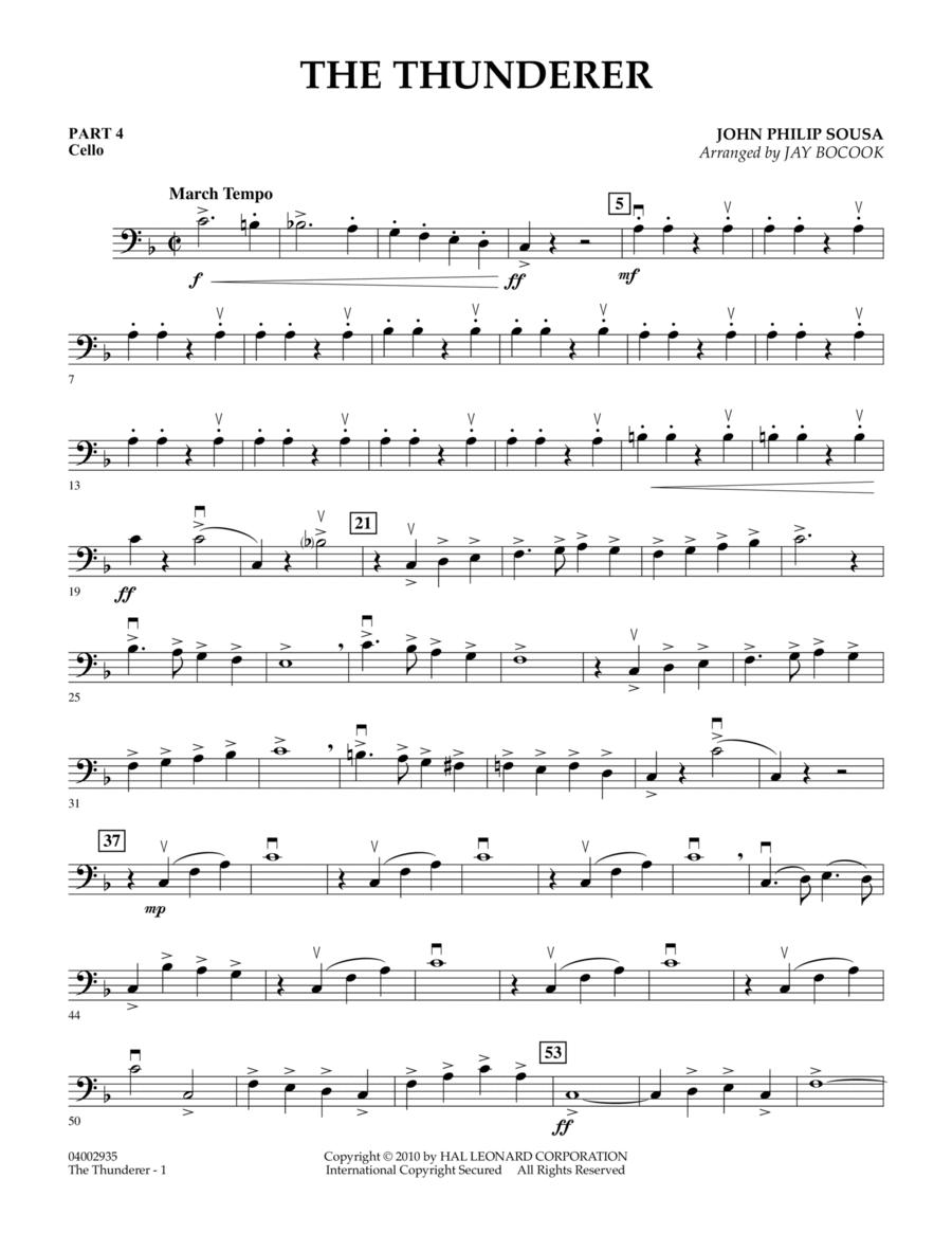 The Thunderer - Pt.4 - Cello