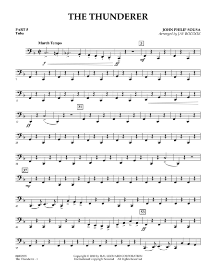 The Thunderer - Pt.5 - Tuba