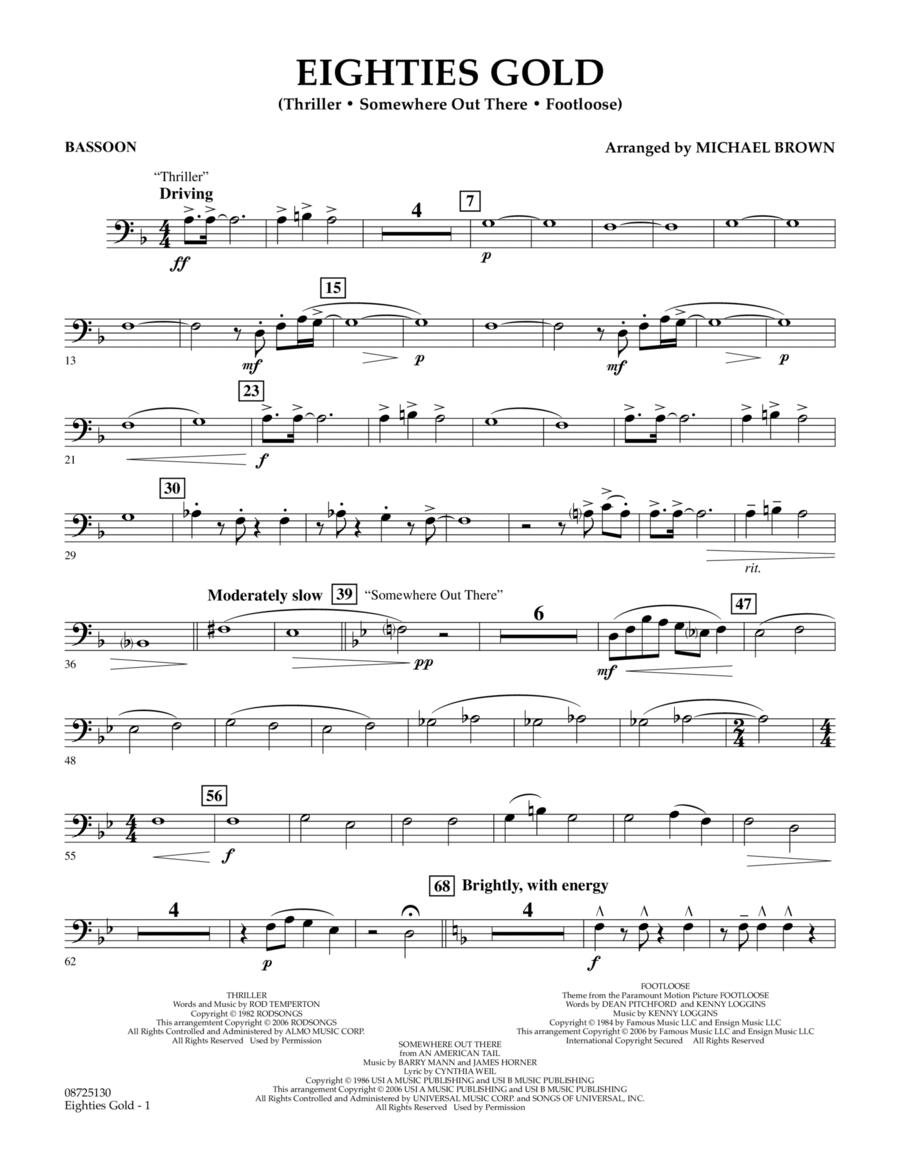 Eighties Gold - Bassoon