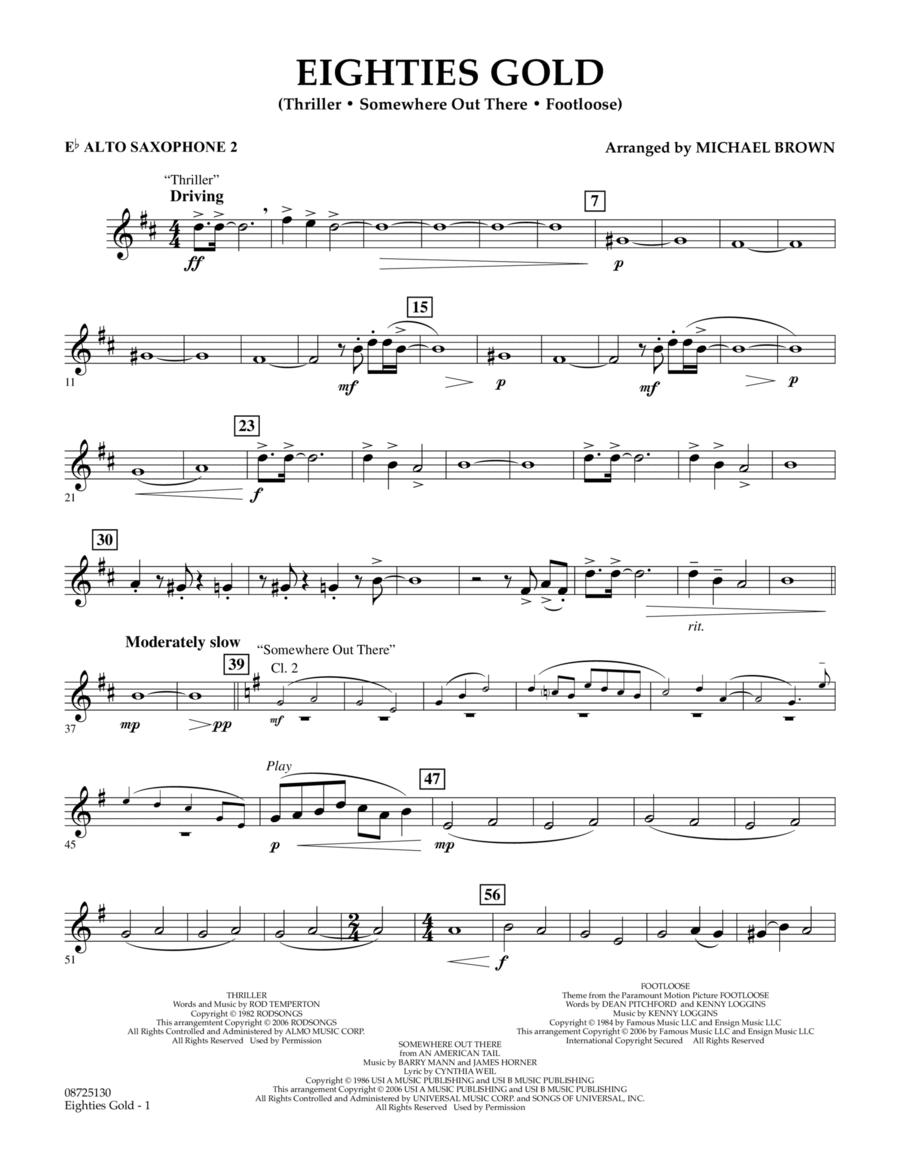 Eighties Gold - Eb Alto Saxophone 2