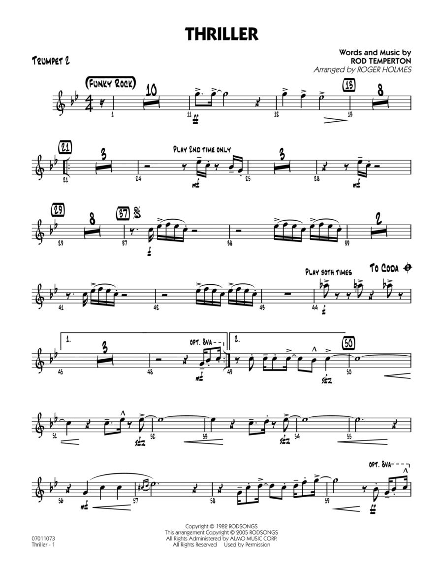 Thriller - Trumpet 2