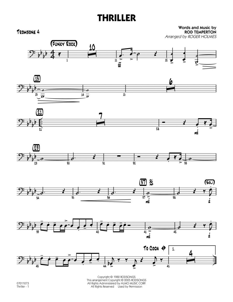 Thriller - Trombone 4