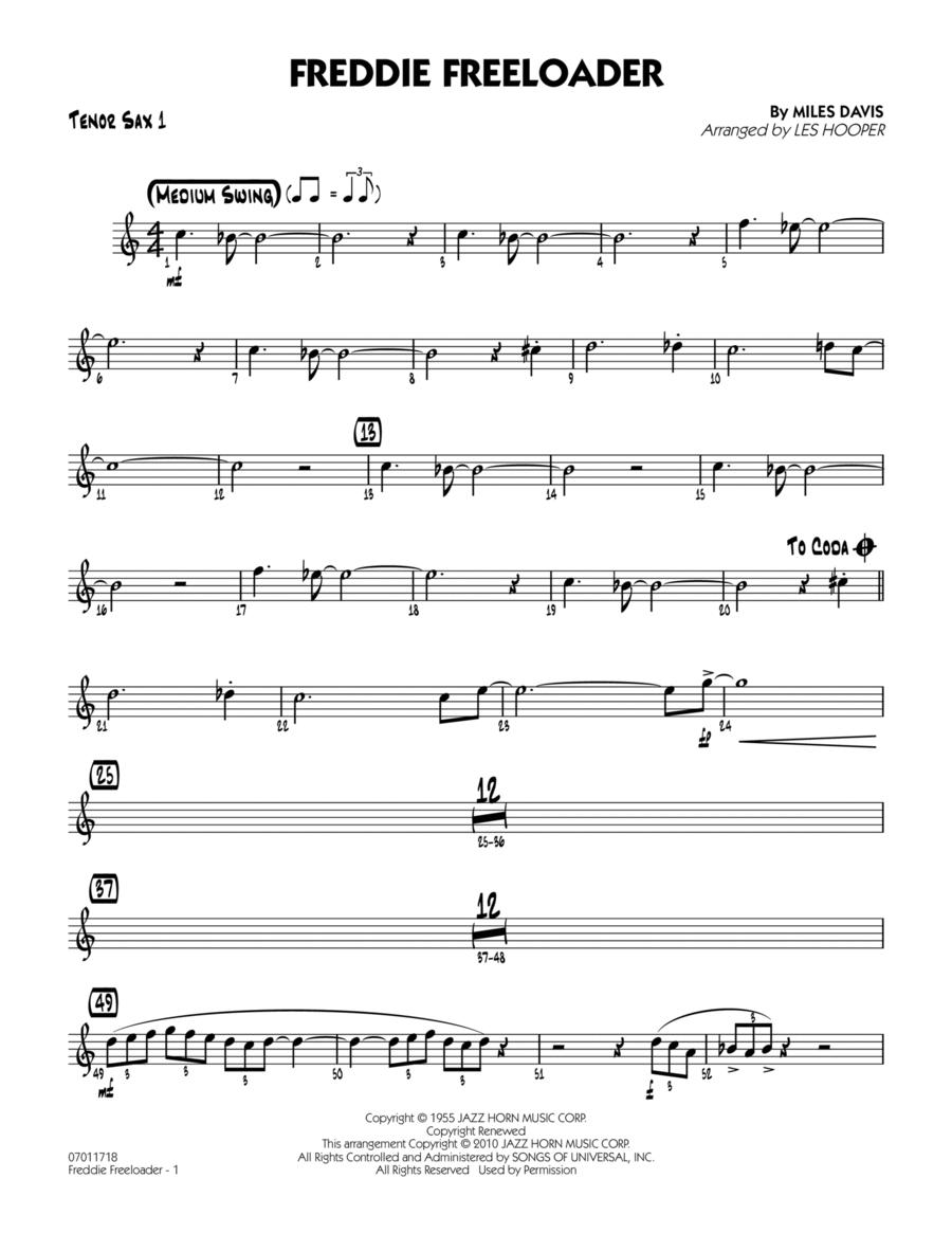 Freddie Freeloader - Tenor Sax 1