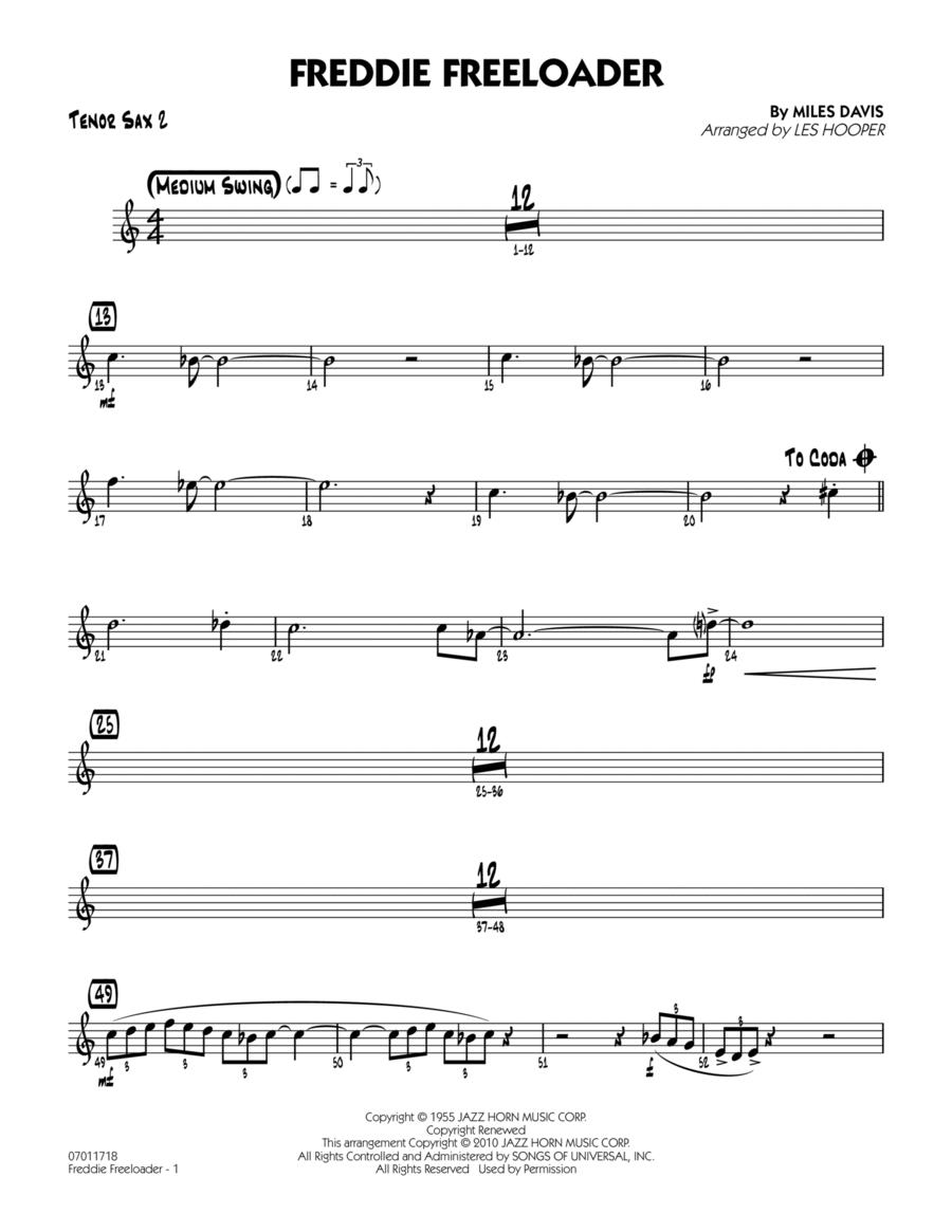 Freddie Freeloader - Tenor Sax 2