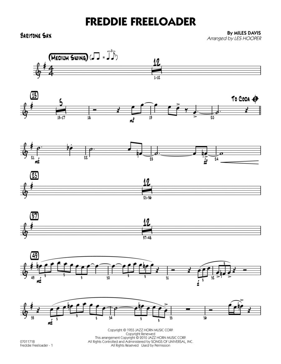 Freddie Freeloader - Baritone Sax