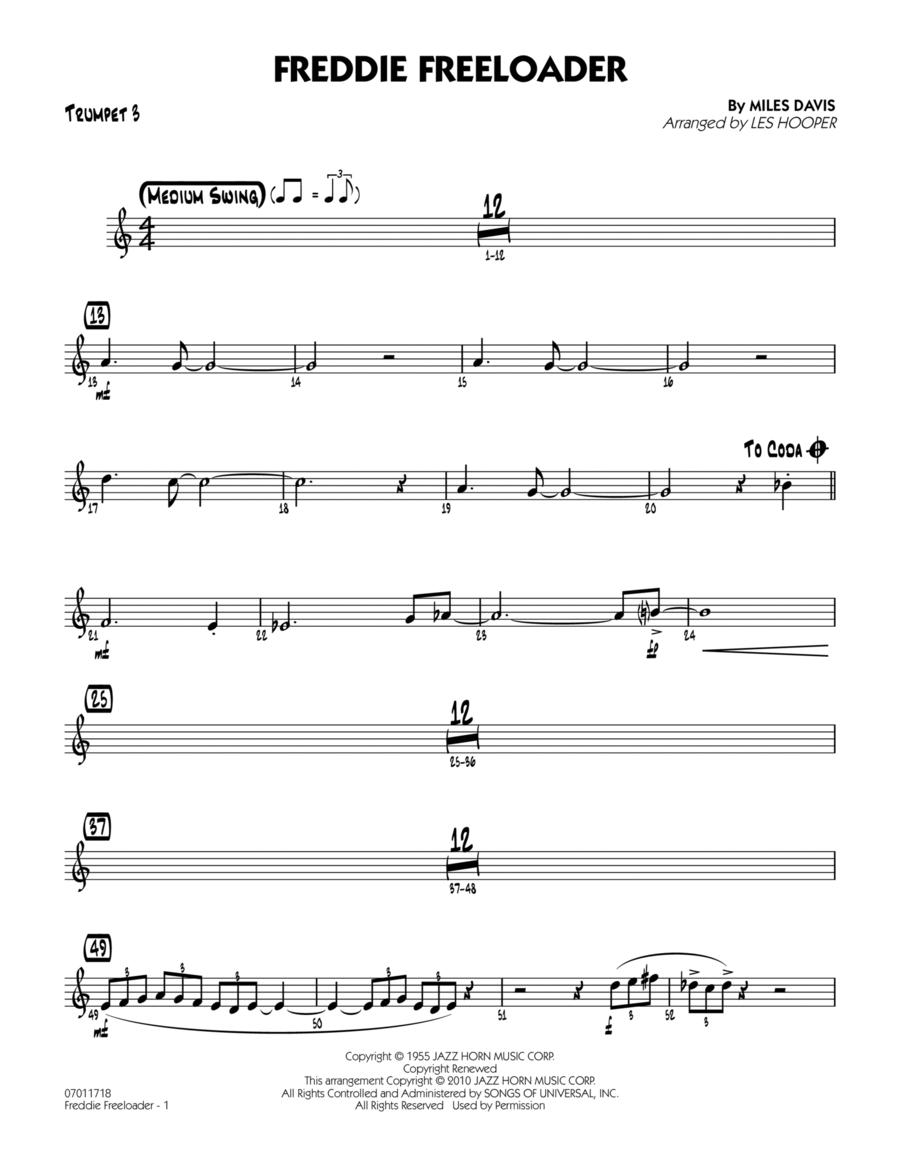 Freddie Freeloader - Trumpet 3