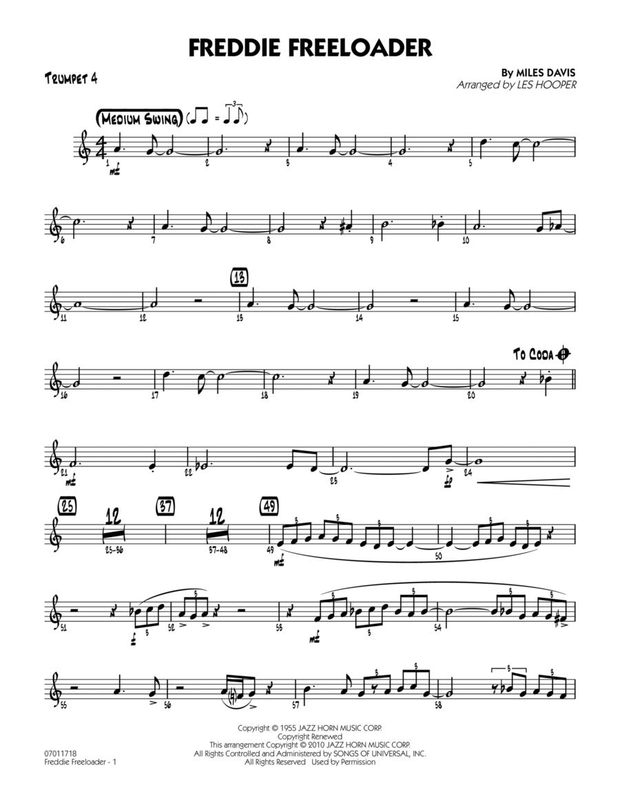 Freddie Freeloader - Trumpet 4