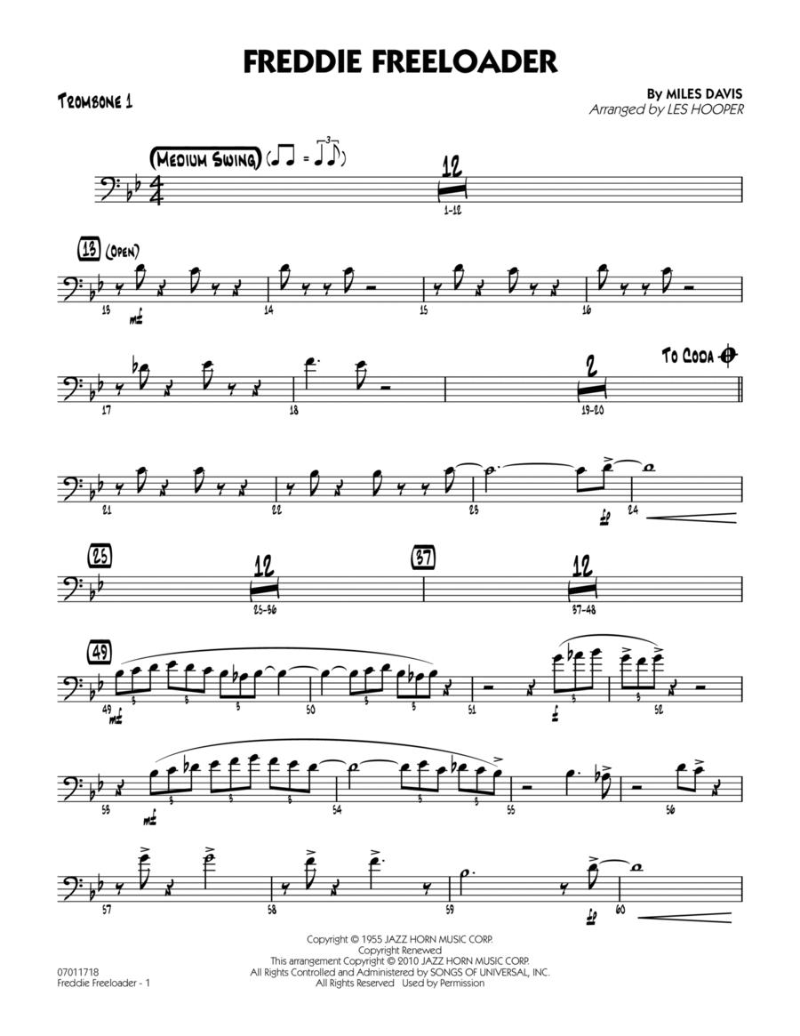 Freddie Freeloader - Trombone 1