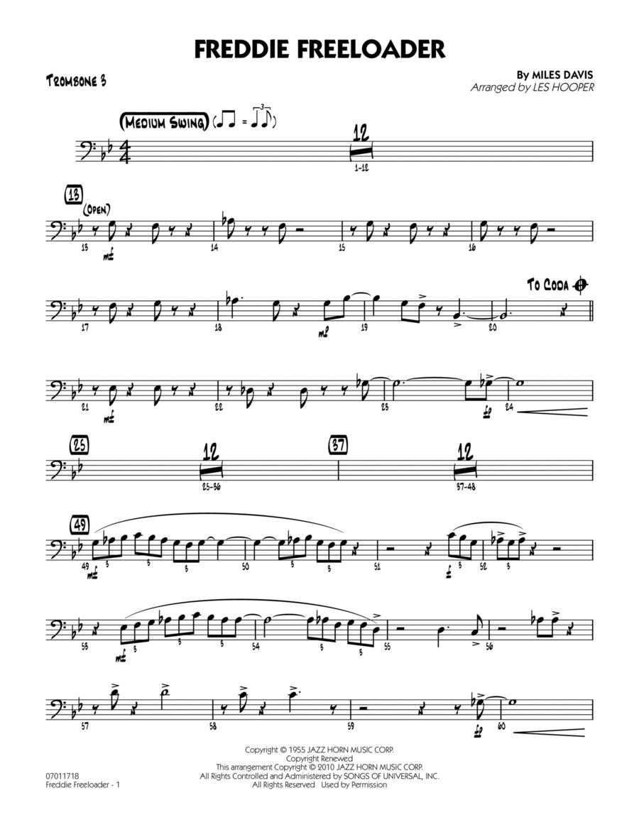 Freddie Freeloader - Trombone 3