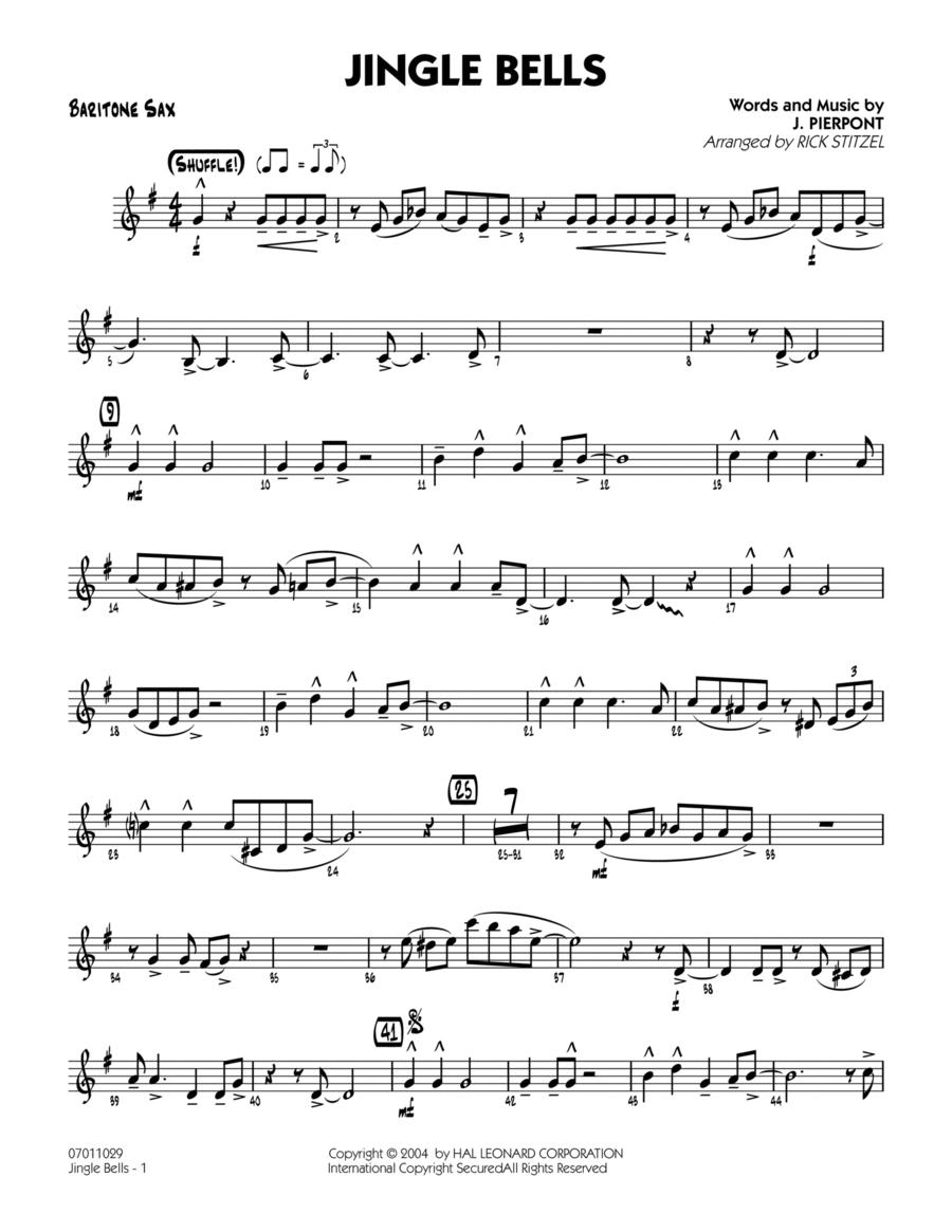 Jingle Bells - Baritone Sax