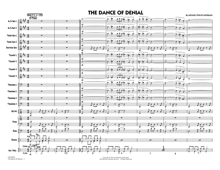 The Dance Of Denial - Conductor Score (Full Score)