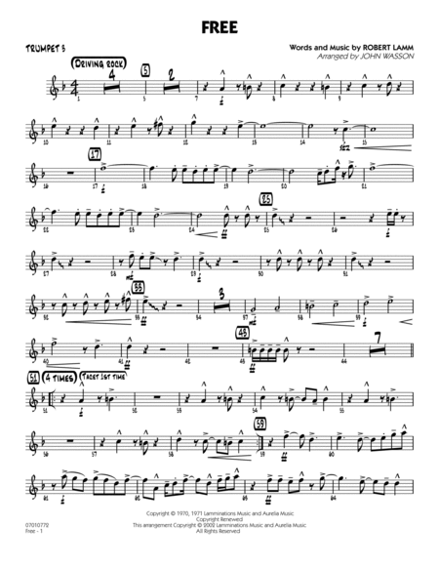 Free - Trumpet 3