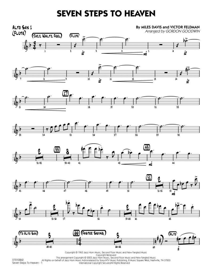 Seven Steps To Heaven - Alto Sax 1/Flute