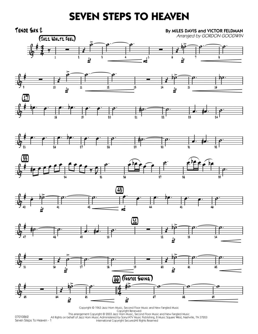 Seven Steps To Heaven - Tenor Sax 2