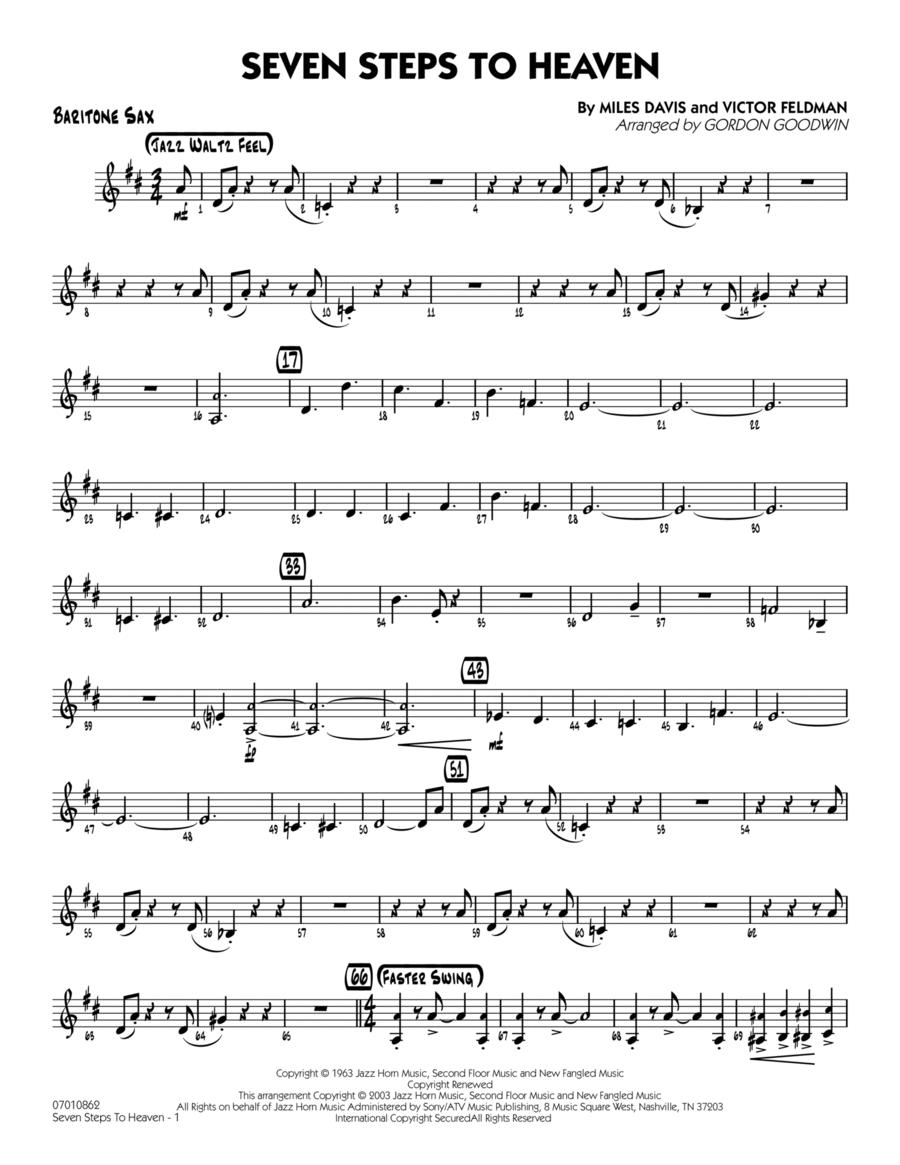 Seven Steps To Heaven - Baritone Sax