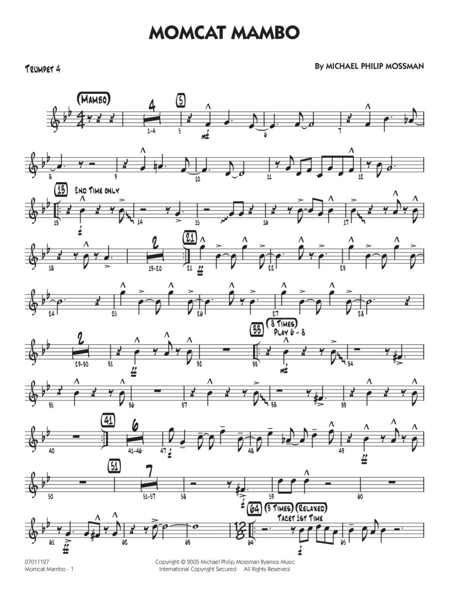 Momcat Mambo - Trumpet 4