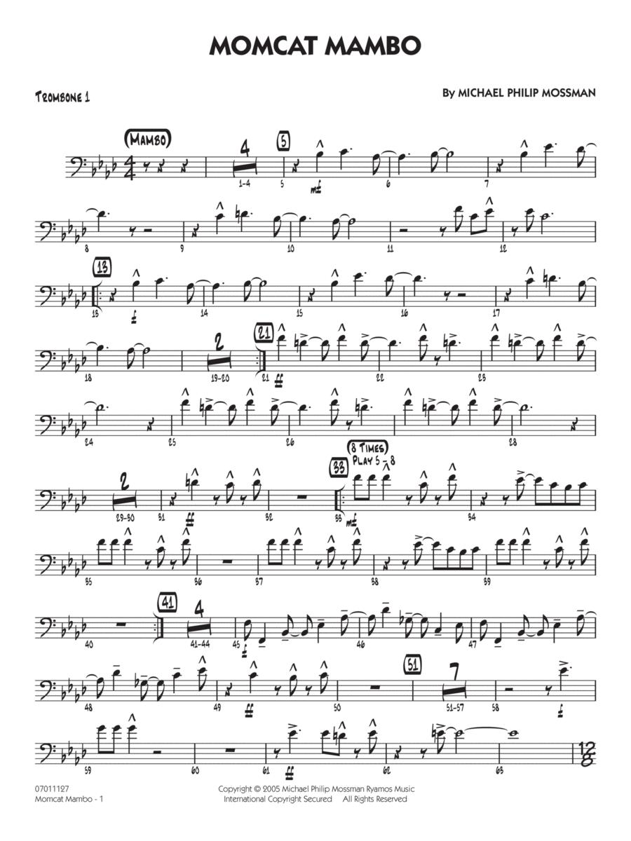 Momcat Mambo - Trombone 1