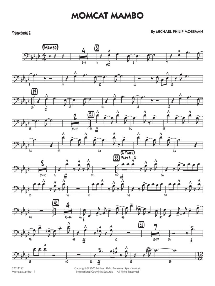 Momcat Mambo - Trombone 2