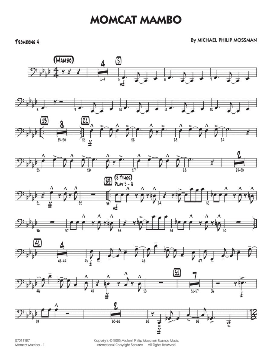 Momcat Mambo - Trombone 4