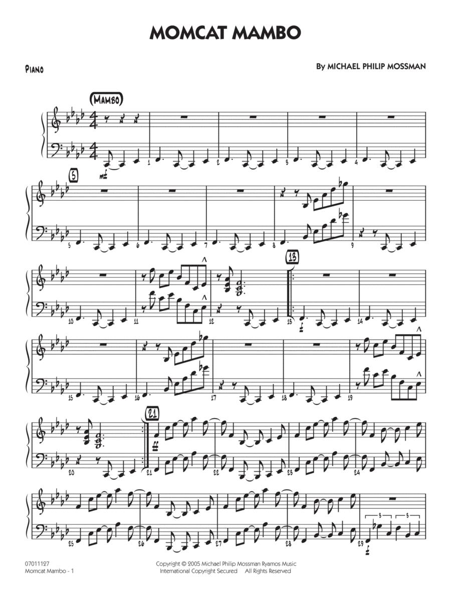 Momcat Mambo - Piano