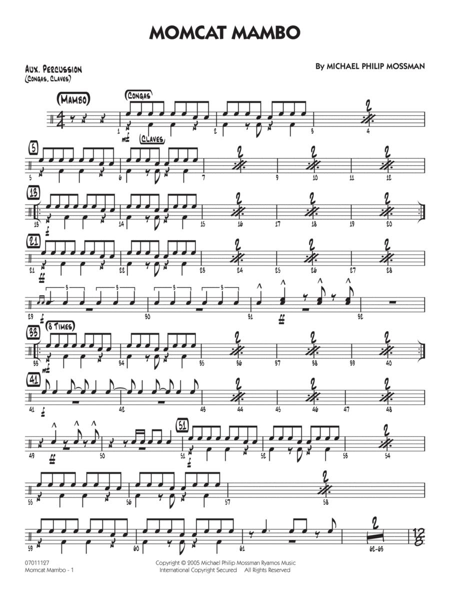 Momcat Mambo - Aux Percussion