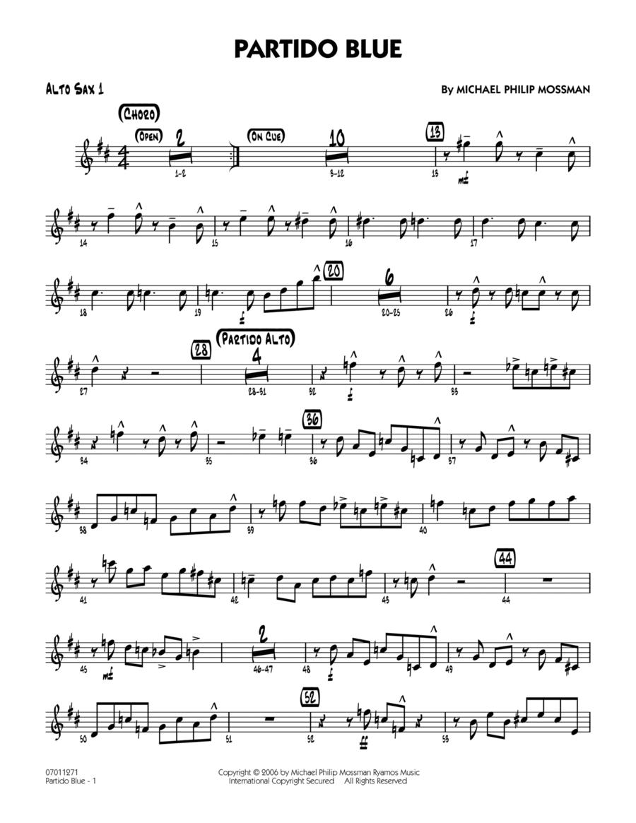 Partido Blue - Alto Sax 1