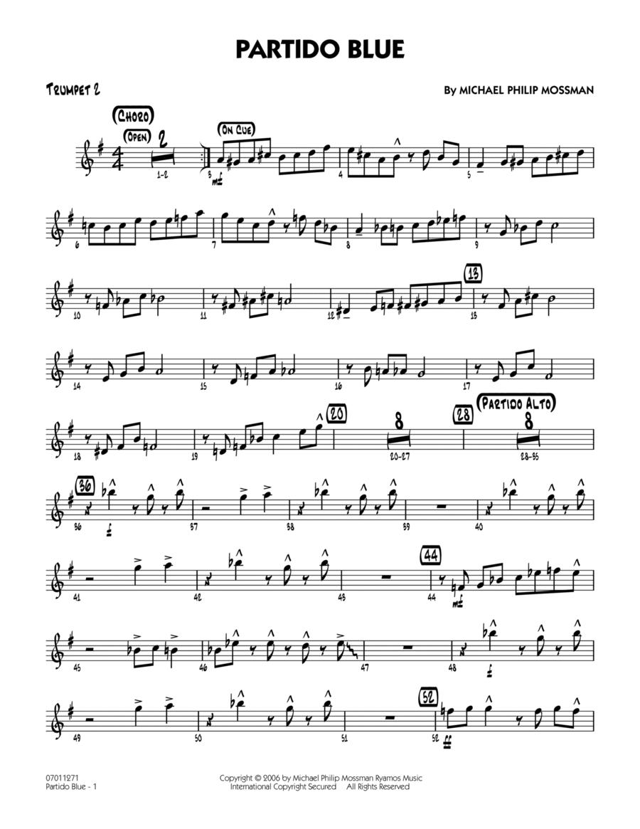 Partido Blue - Trumpet 2
