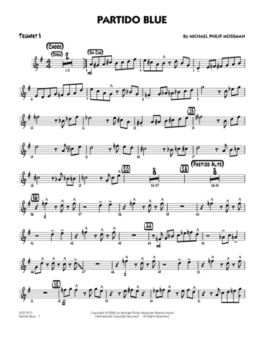 Partido Blue - Trumpet 3