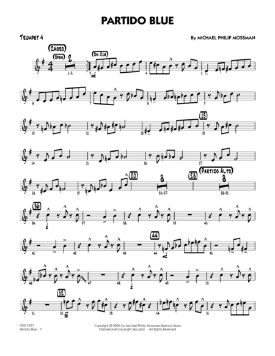 Partido Blue - Trumpet 4