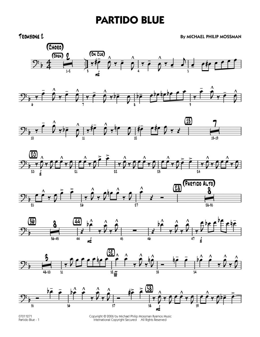 Partido Blue - Trombone 2