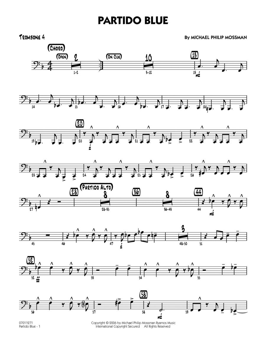 Partido Blue - Trombone 4