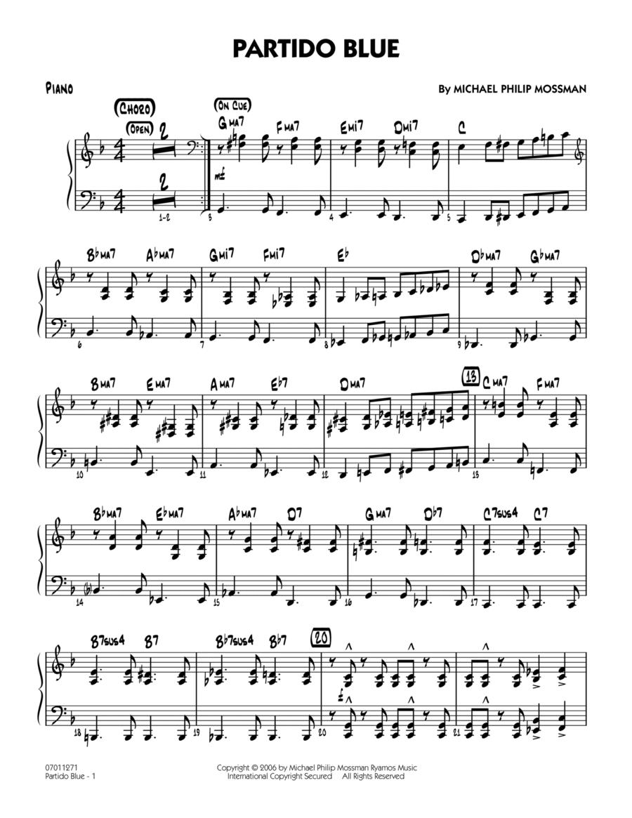 Partido Blue - Piano