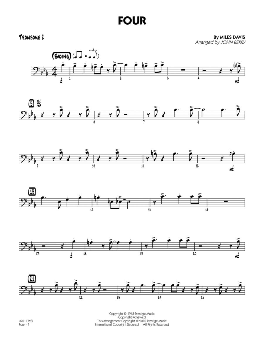 Four - Trombone 2