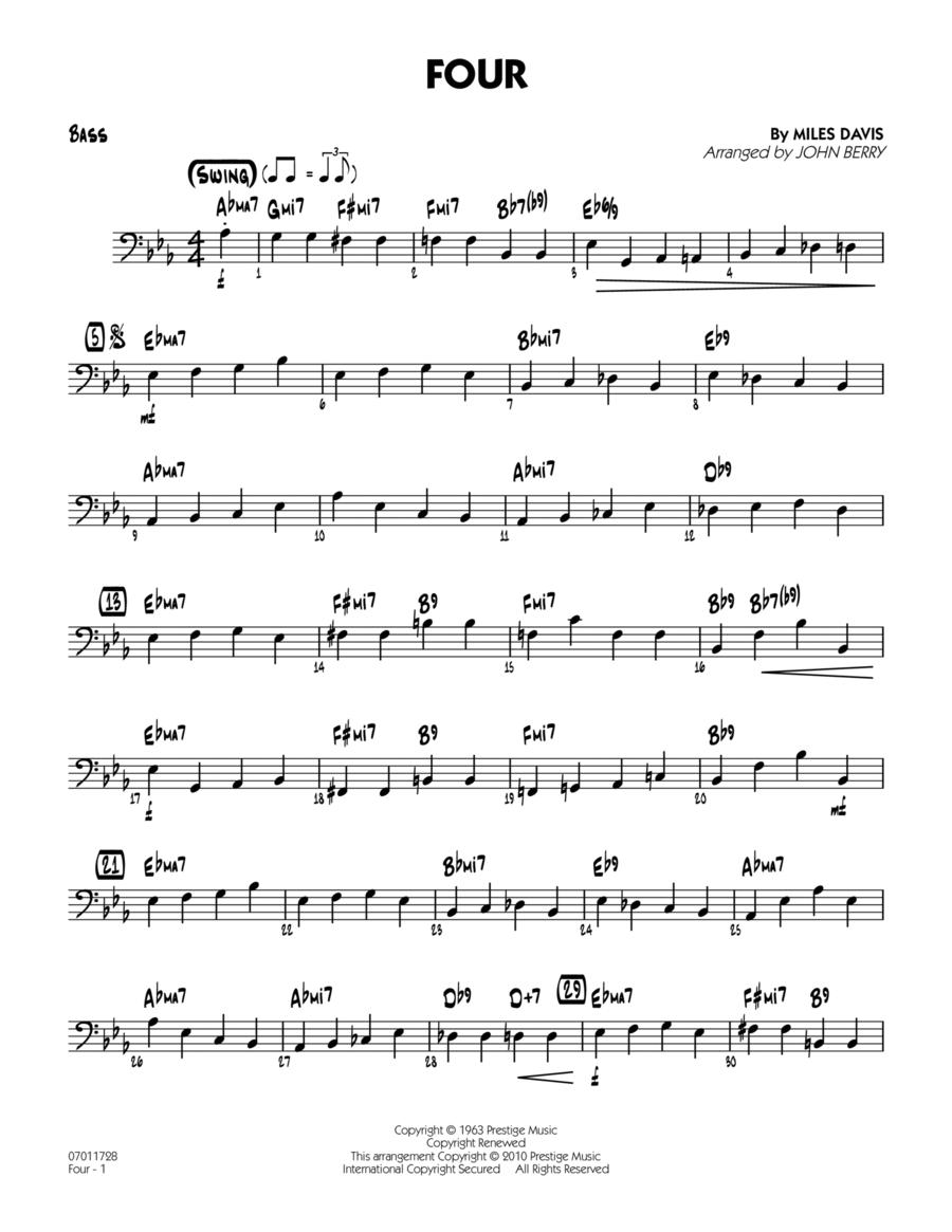 Four - Bass