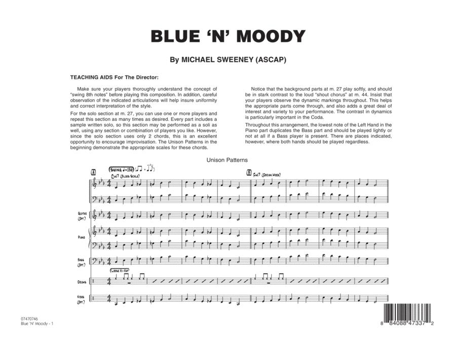 Blue 'N' Moody - Full Score