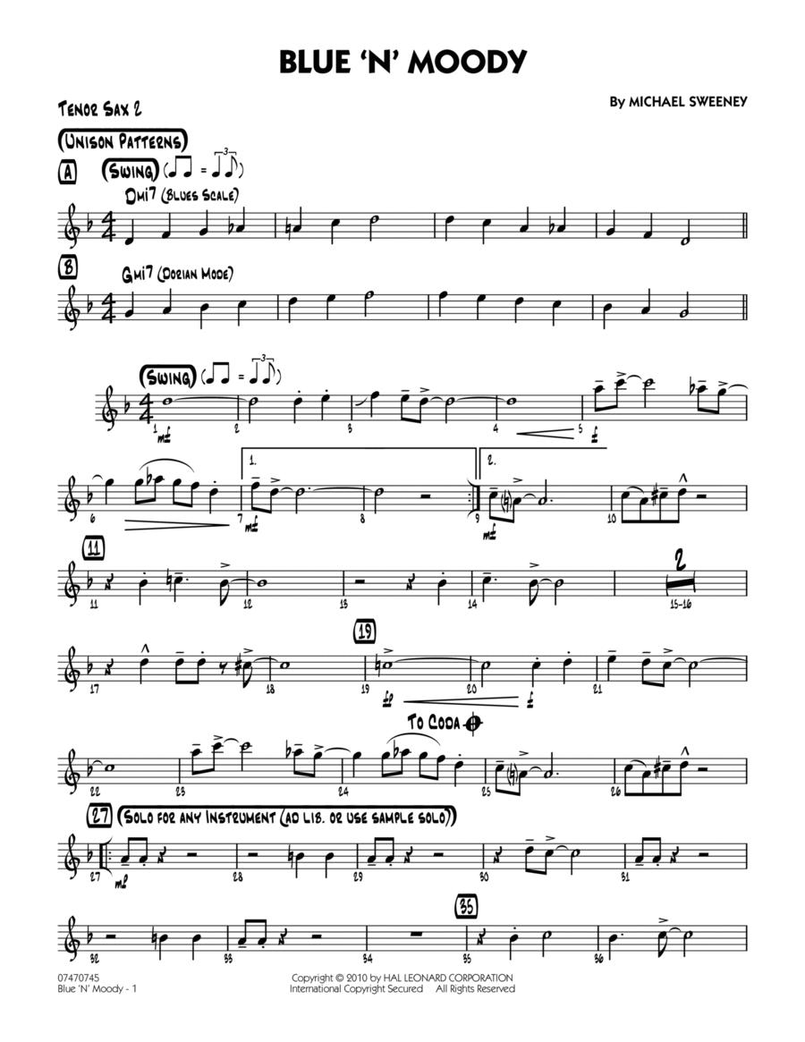Blue 'N' Moody - Tenor Sax 2