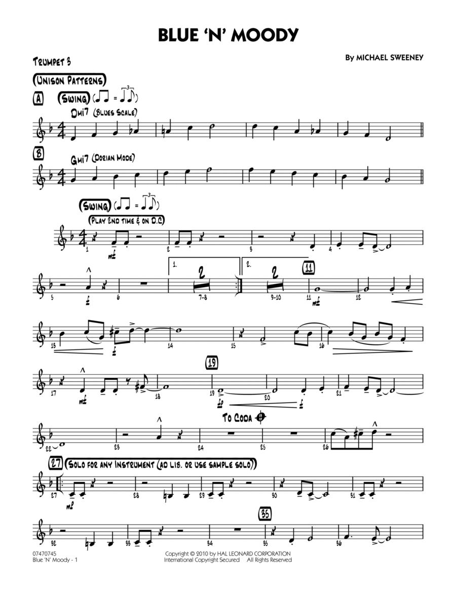 Blue 'N' Moody - Trumpet 3