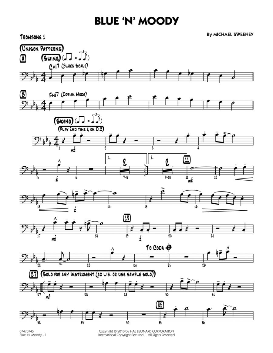 Blue 'N' Moody - Trombone 1