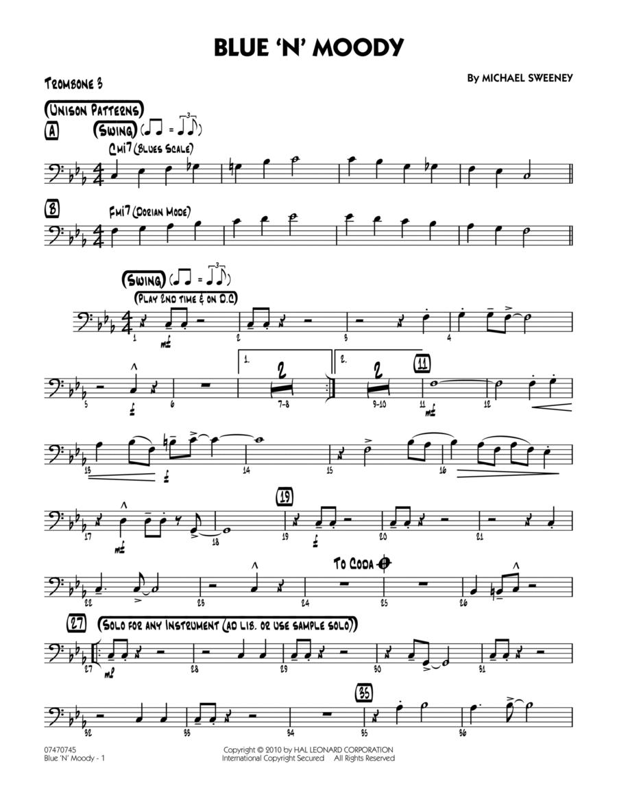 Blue 'N' Moody - Trombone 3