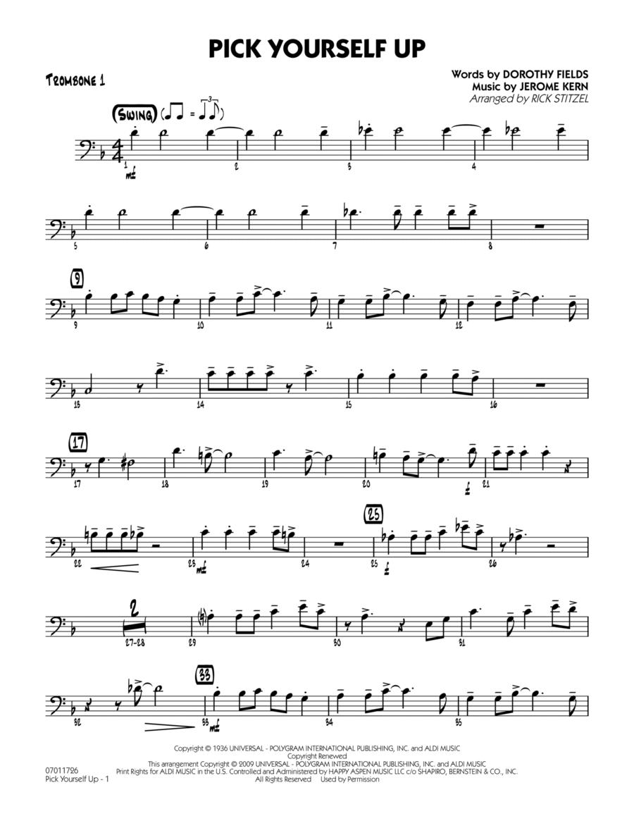 Pick Yourself Up - Trombone 1