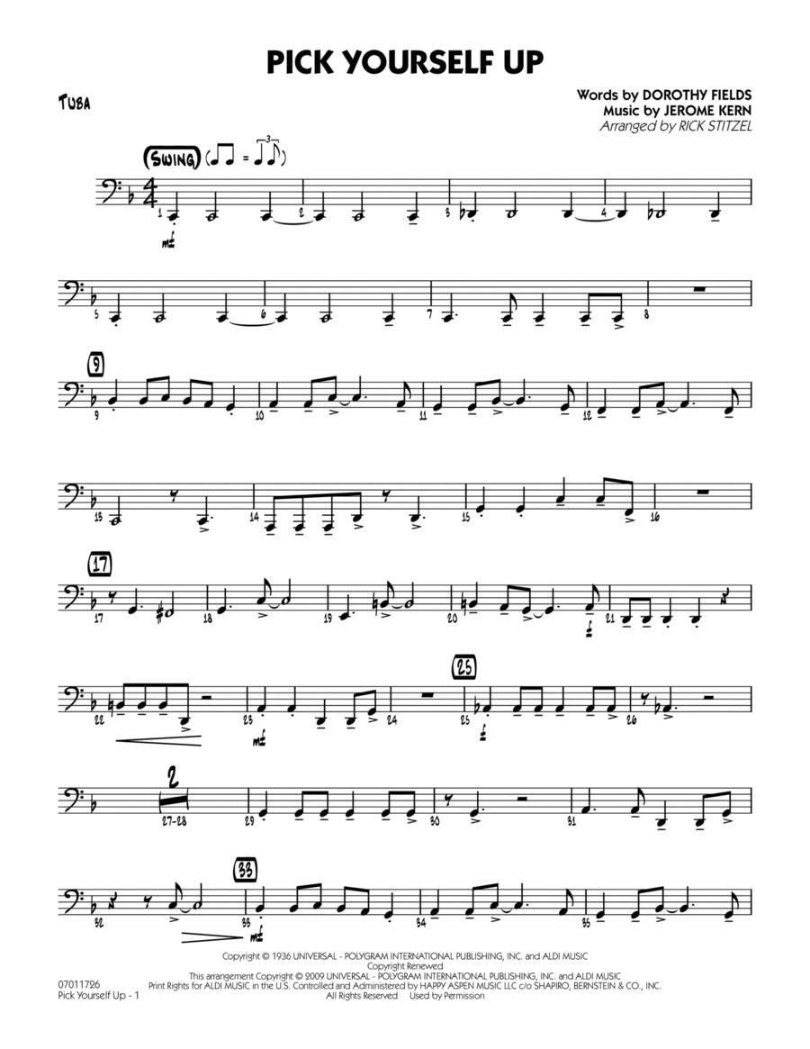 Pick Yourself Up - Tuba