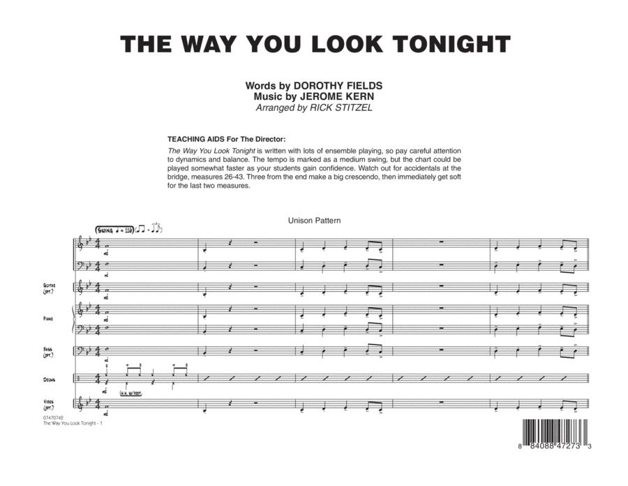 The Way You Look Tonight - Full Score