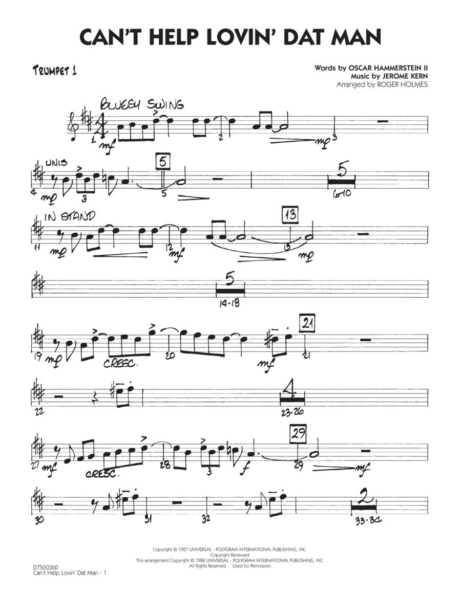 Can't Help Lovin' Dat Man - Trumpet 1