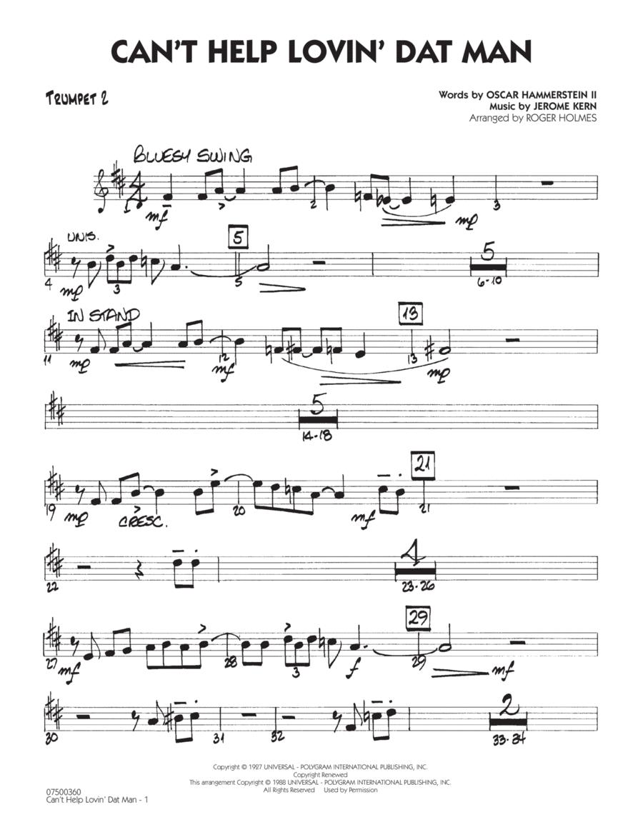 Can't Help Lovin' Dat Man - Trumpet 2