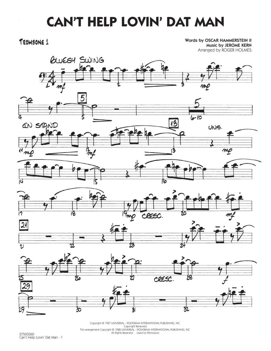 Can't Help Lovin' Dat Man - Trombone 1