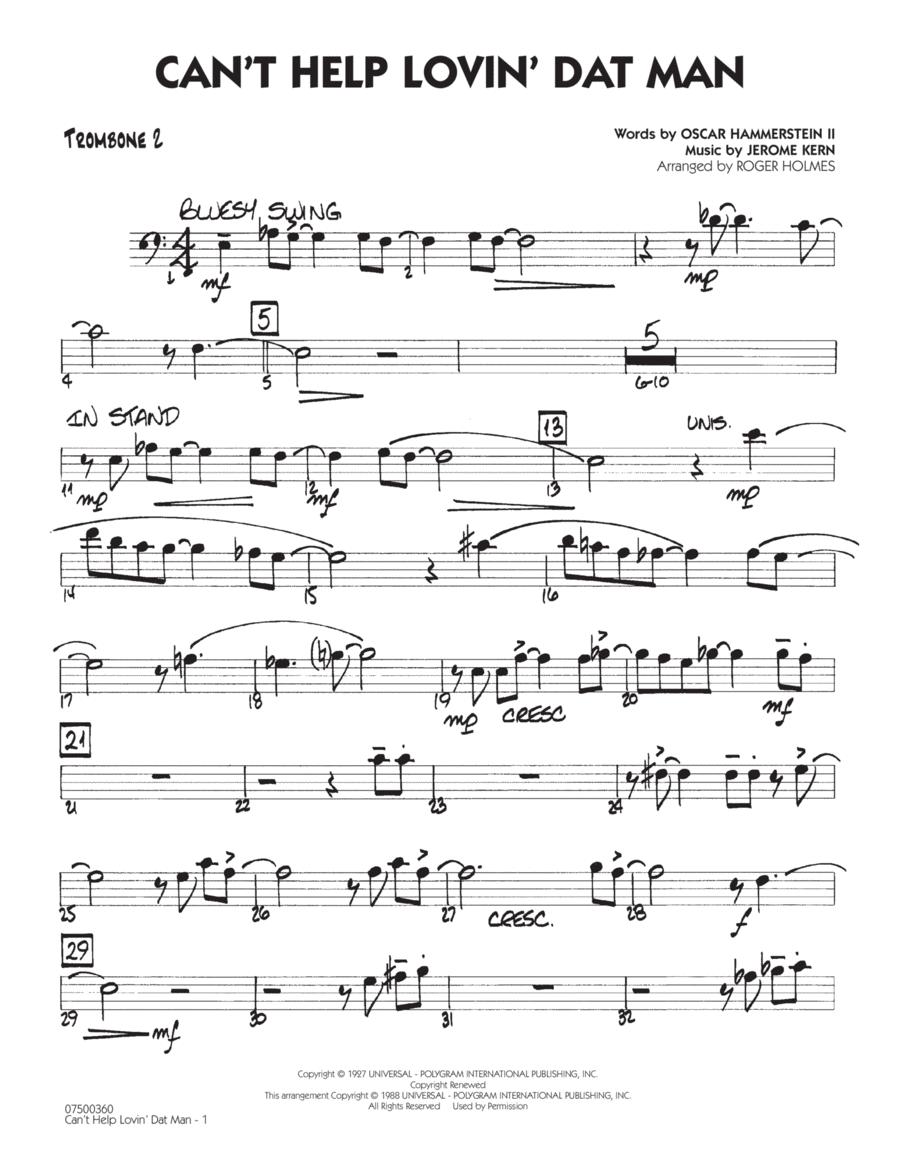 Can't Help Lovin' Dat Man - Trombone 2