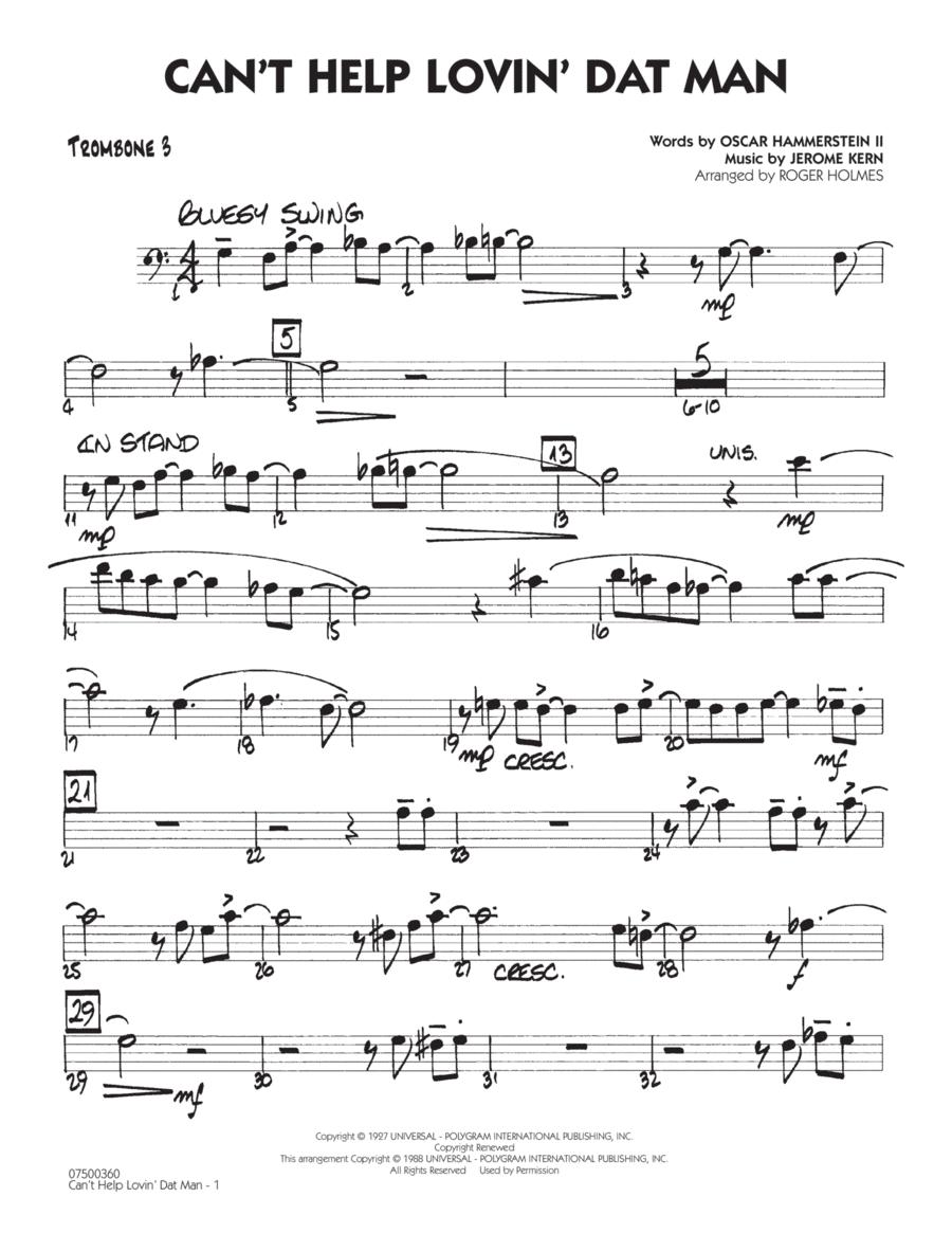 Can't Help Lovin' Dat Man - Trombone 3