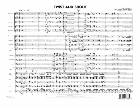 Twist And Shout - Full Score